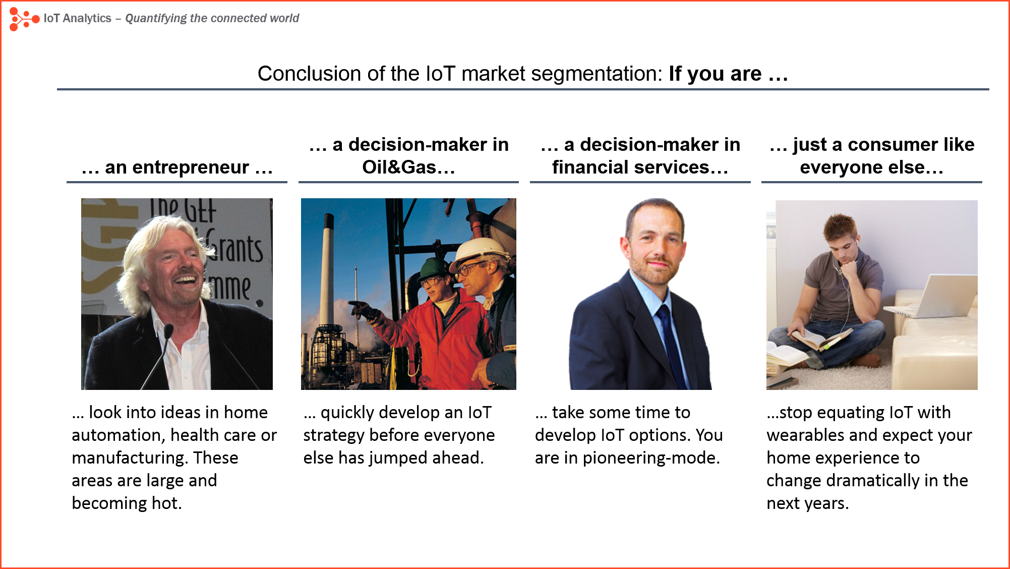 IoT market segmentation conclusion