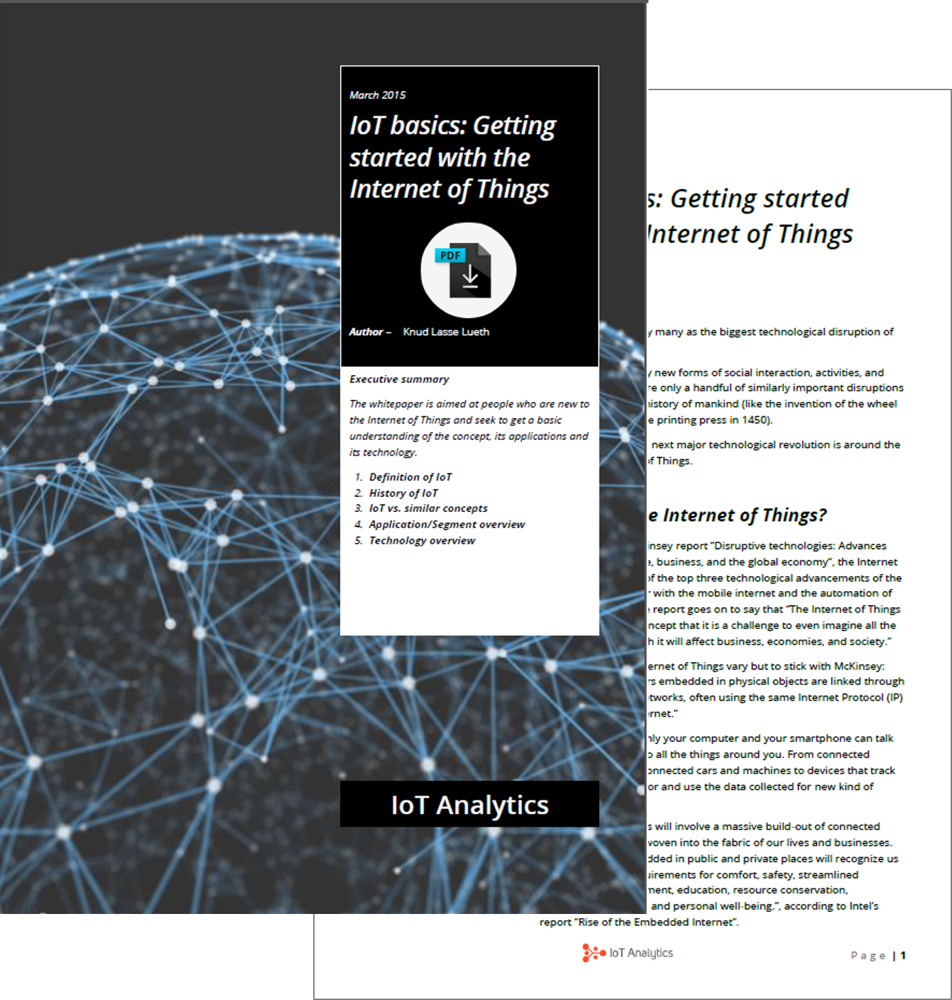 getting started with the internet of things preview