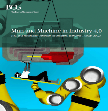 Man and machine in Industry 4.0 cover