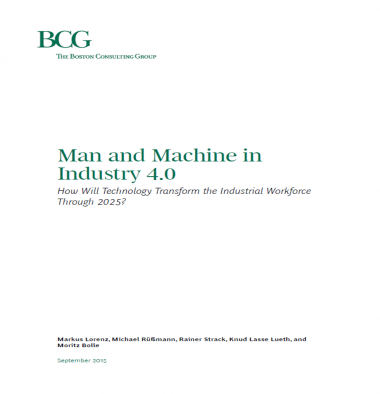 Man and machine in Industry 4.0 page 1