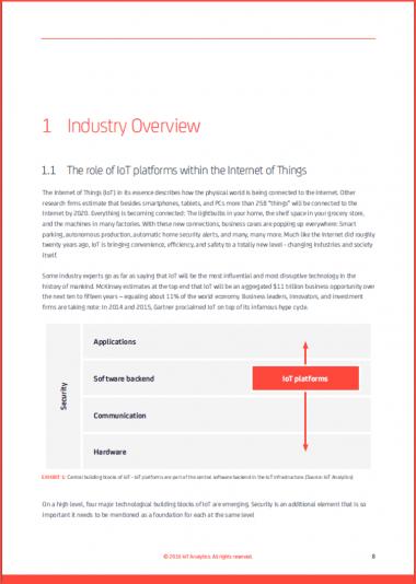 IoT Platform Market Report 2015-2021 page 8)