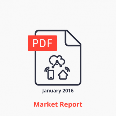 IoT Platforms Market Report 2016 Icon