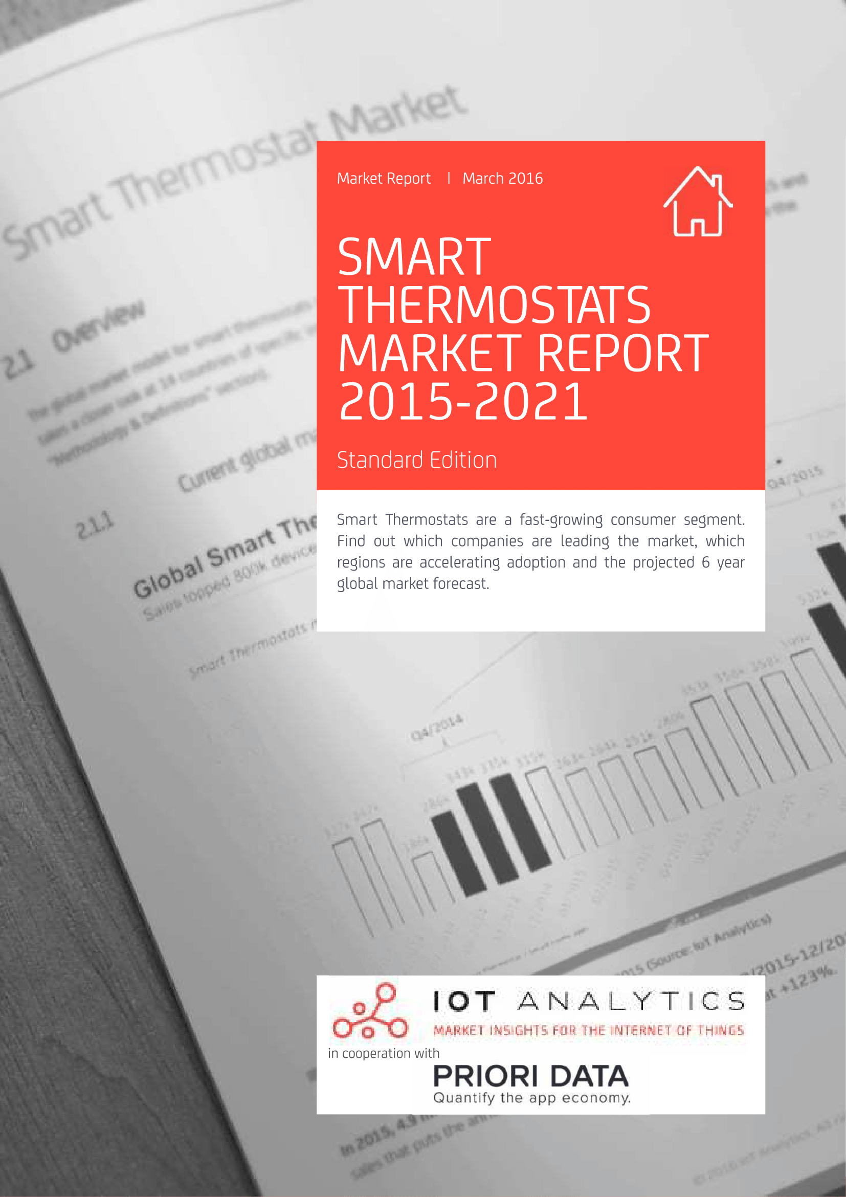Smart Thermostat Market Report cover page