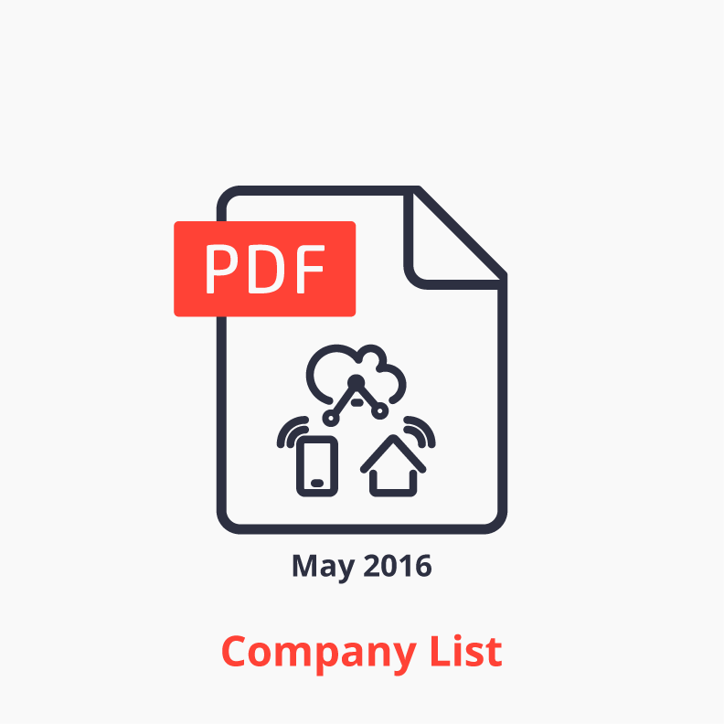 iot platform company list icon