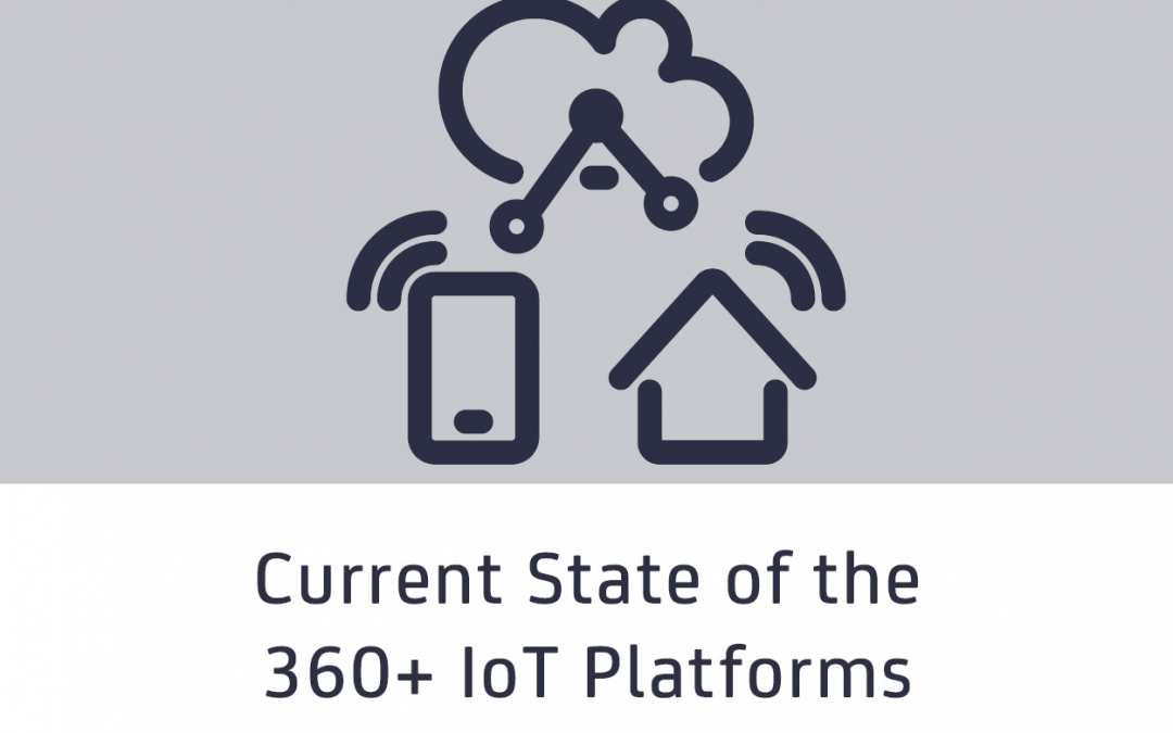 Current state of the 360+ IoT Platforms