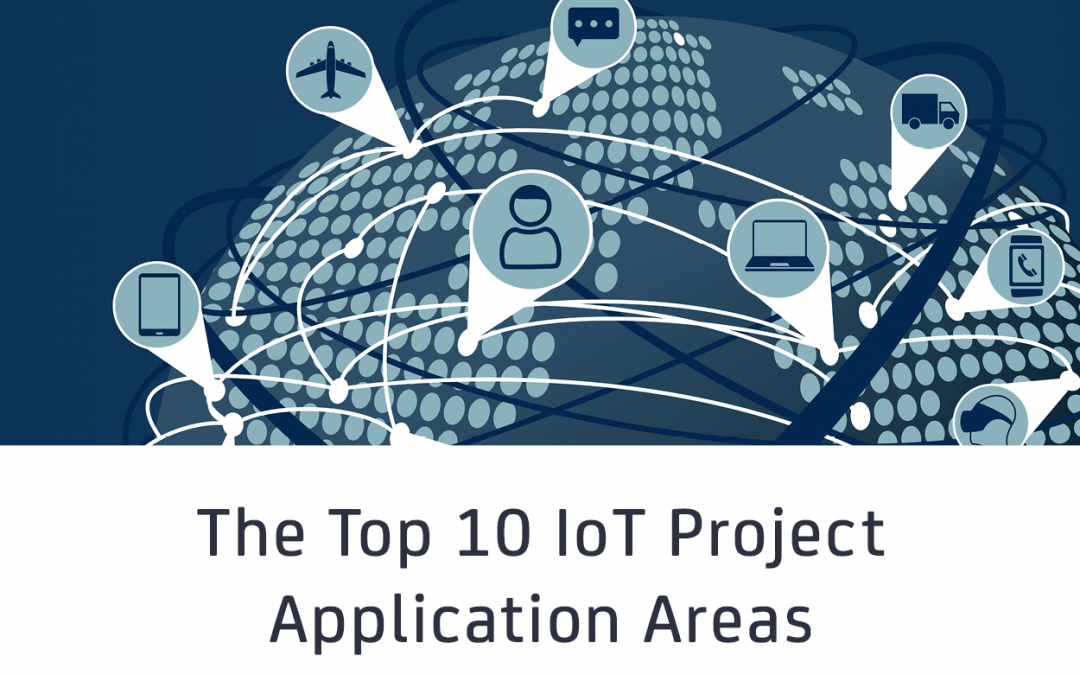 The top 10 IoT application areas – based on real IoT projects