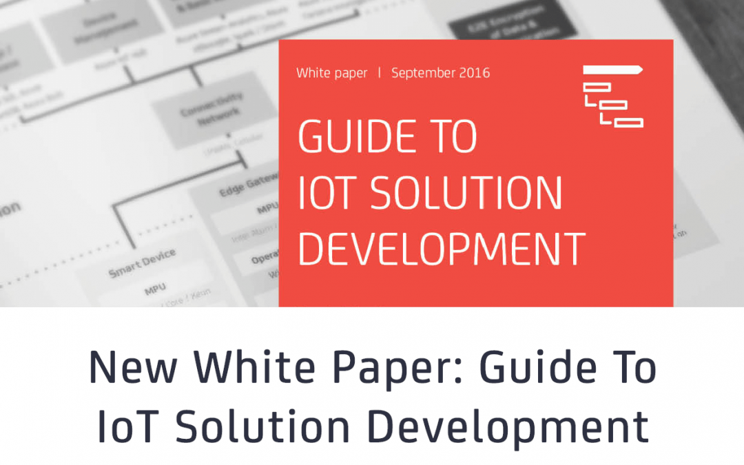 New White Paper Uncovers Major Challenges During Internet of Things Implementation Projects