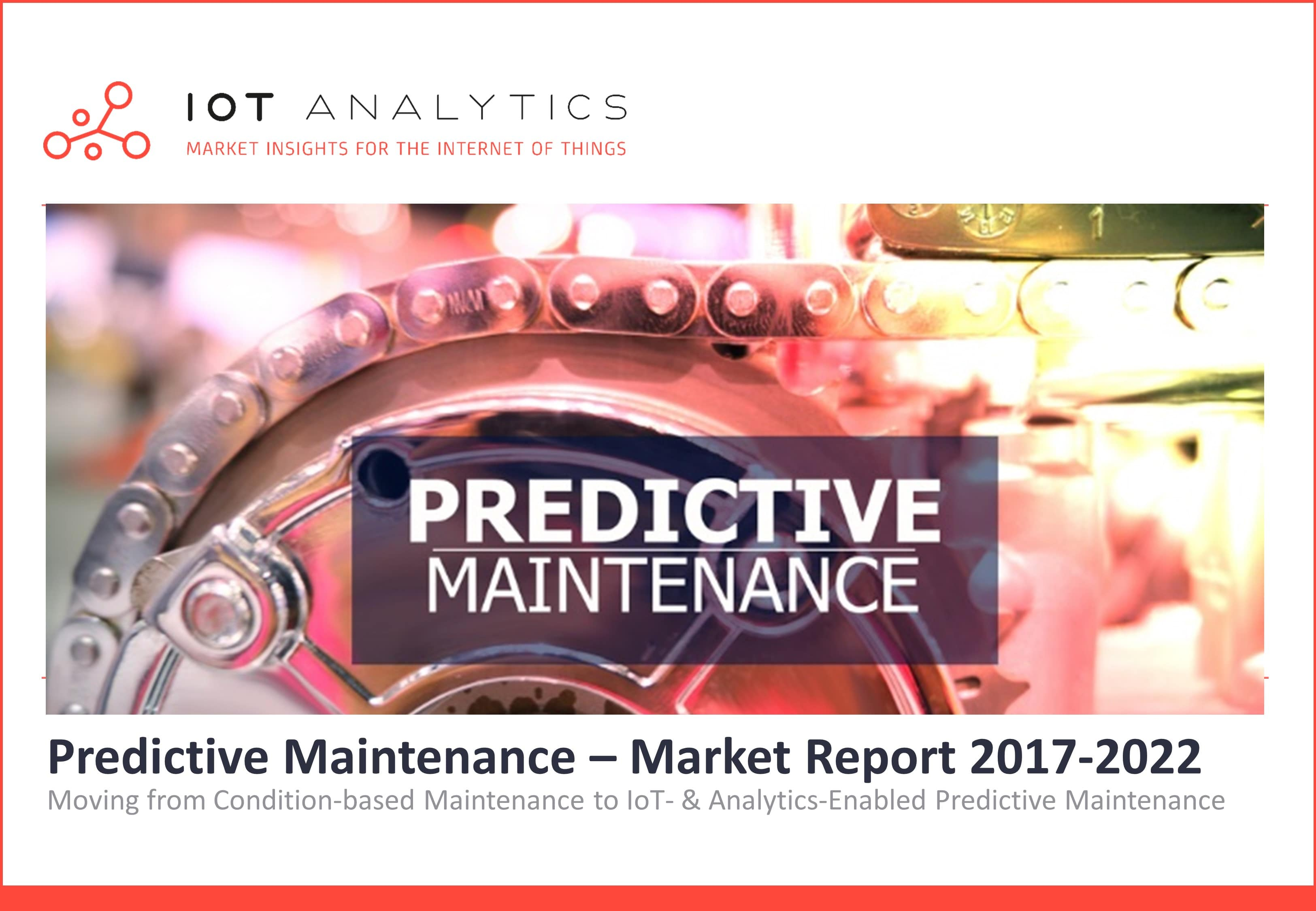 predictive maintenance report cover
