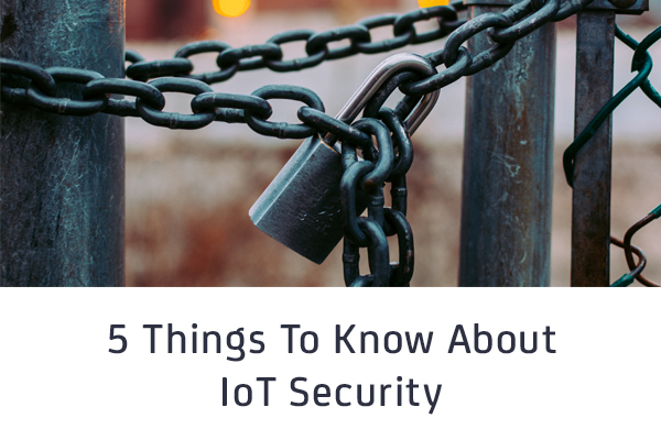 5 Things To Know About IoT Security