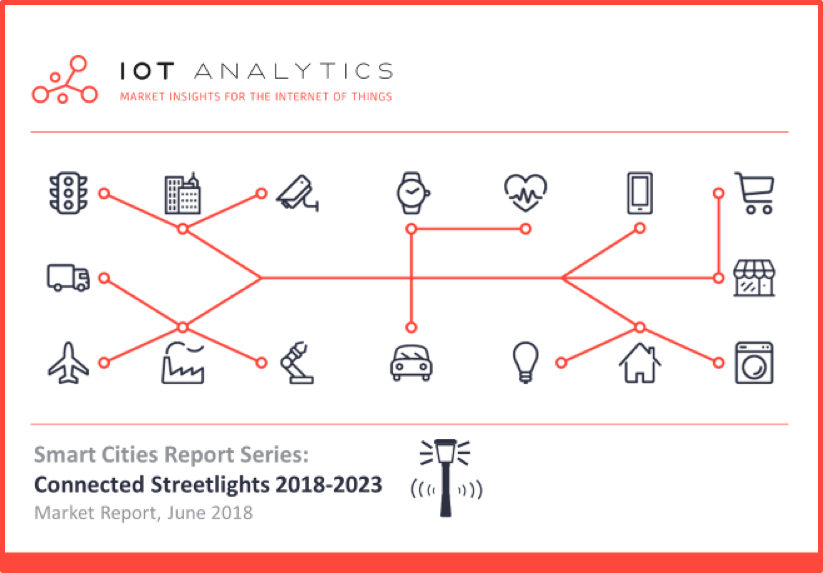 Connected Streetlights Report & Smart Cities Market Report 2018-2023 Cover v2