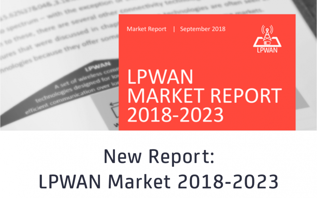 LPWAN emerging as fastest growing IoT communication technology – 1.1 billion IoT connections expected by 2023, LoRa and NB-IoT the current market leaders