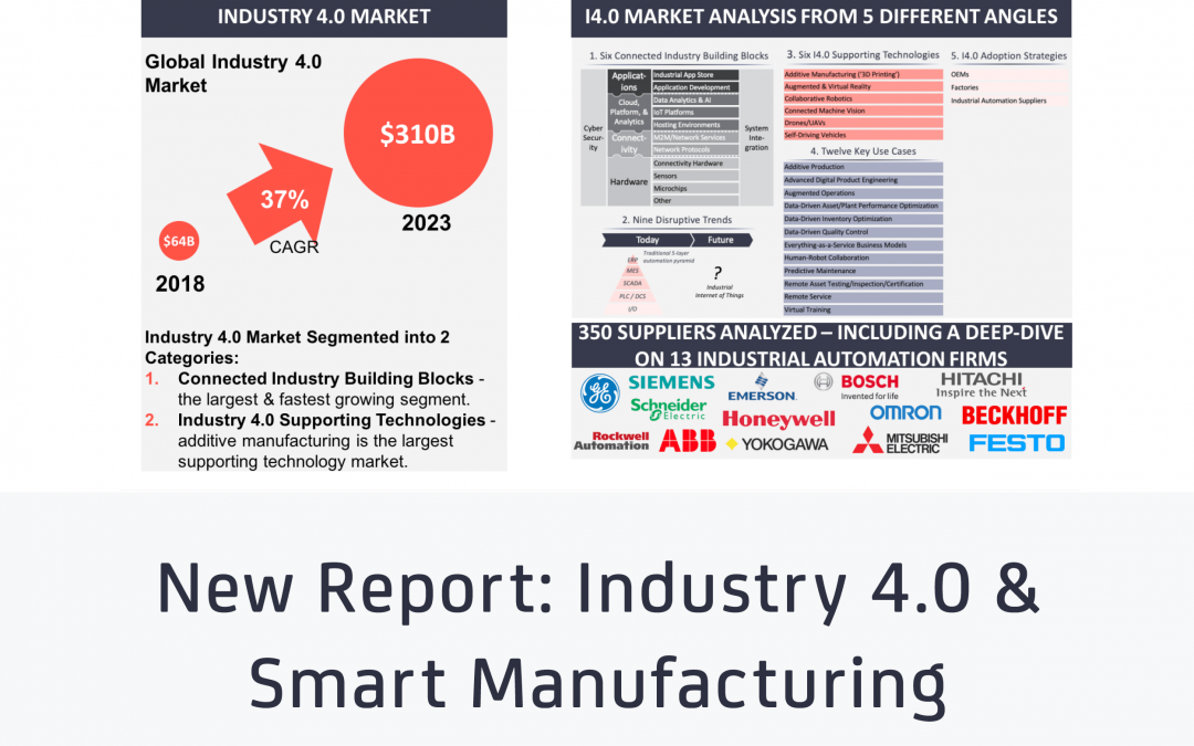 New market report uncovers 9 disruptive trends and ranks 12 key use cases transforming smart manufacturing