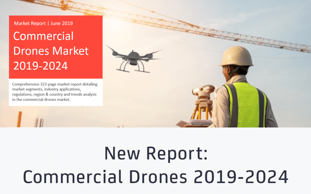 Commercial Drones market to become a $43B opportunity by 2024