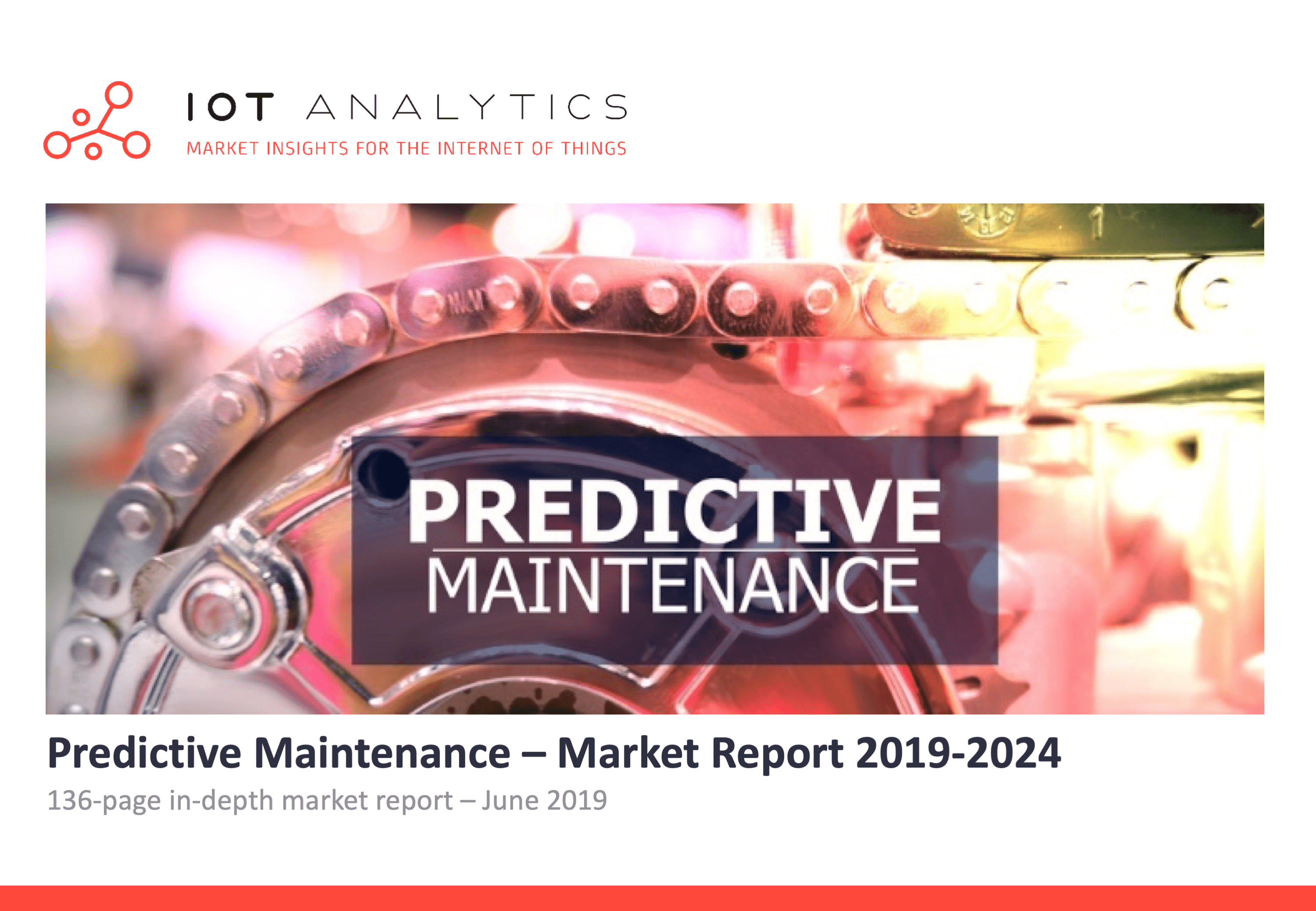 Predictive Maintenance Market Report 2019-2024 Cover