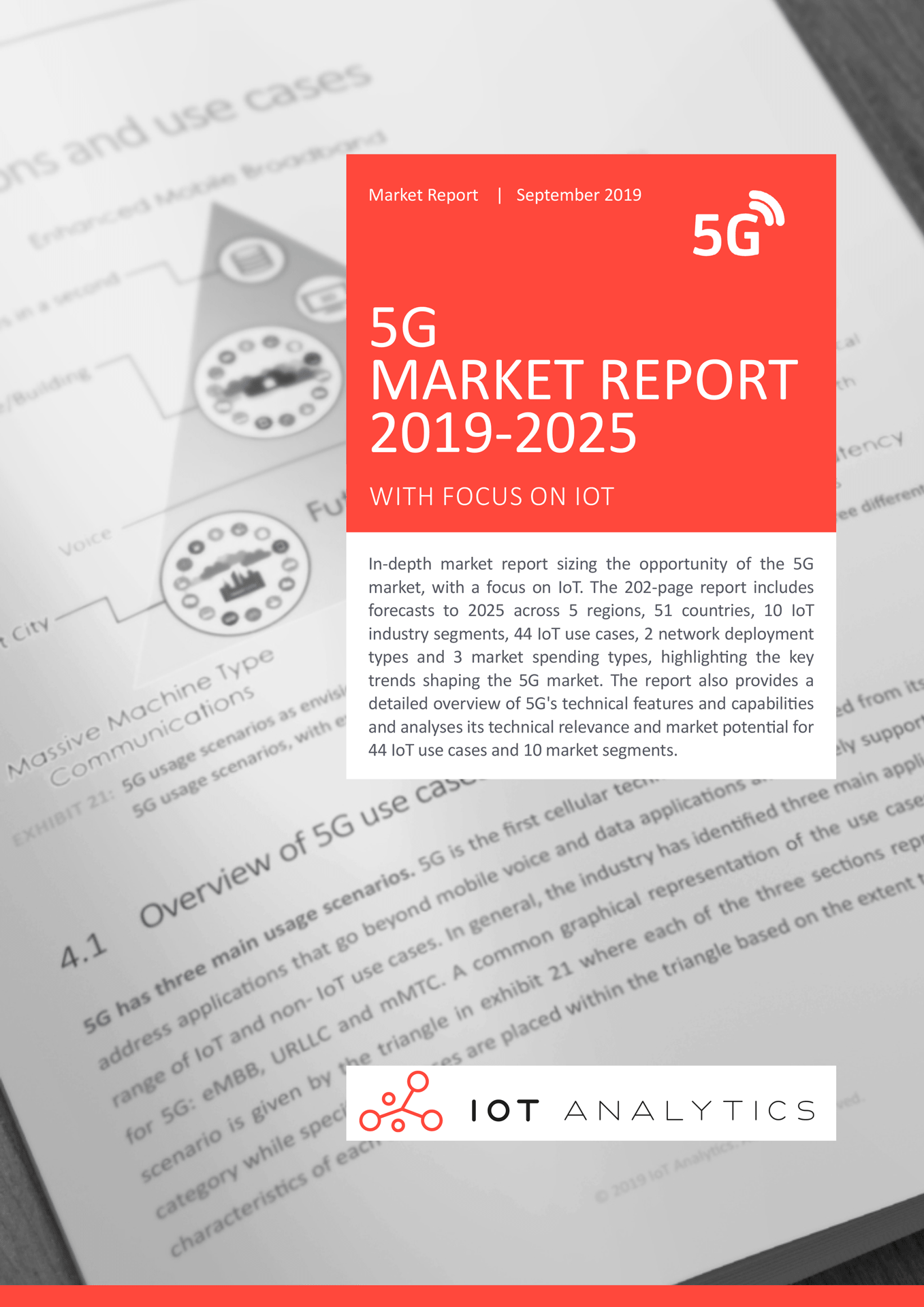 5G Market Report 2019 2025 cover