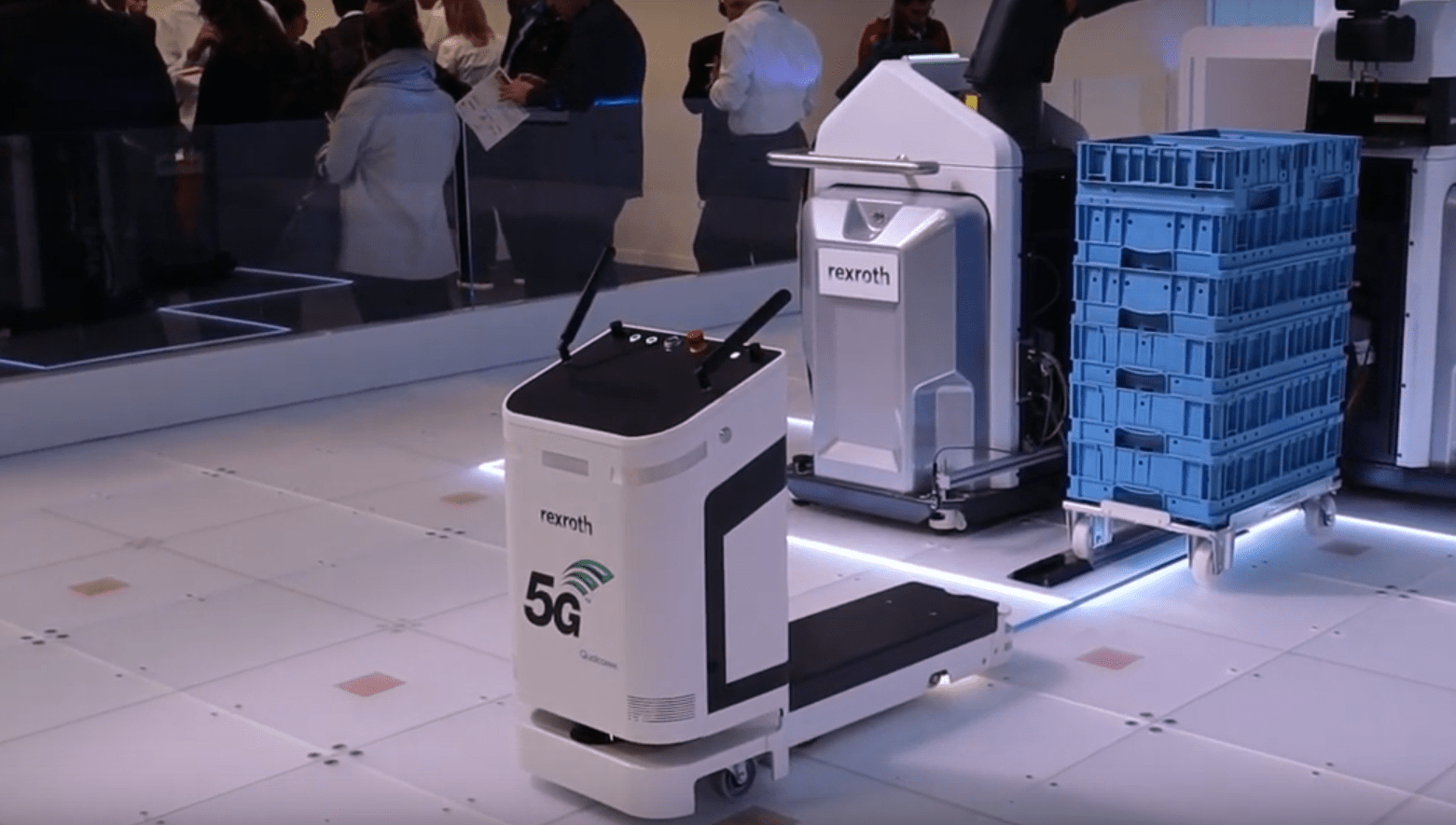 5G IoT Use Cases - Collaborative Robots
