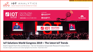 IoT Solutions World Congress 2019 - Event Report Cover Thumb