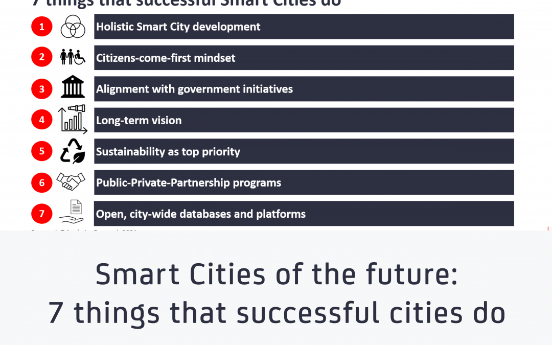 Smart Cities of the future: 7 things that successful cities do