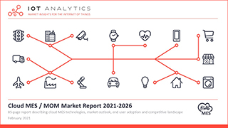 Cloud MES Market Report 2021-2026 - Cover thumb